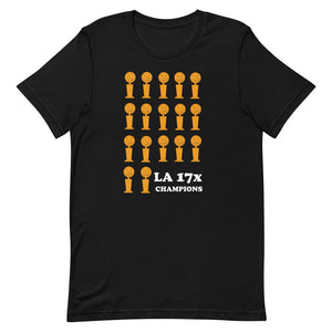Lakers 17 Championships T-Shirt
