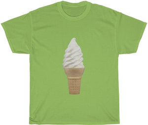soft serve cone t-shirt