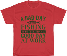 Load image into Gallery viewer, yeah guy fishing t shirt funny