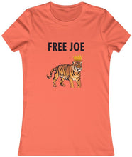 Load image into Gallery viewer, Women's Free Joe Exotic Tiger King T-Shirt