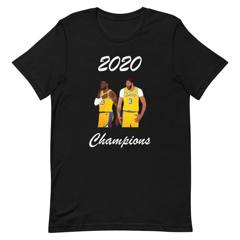 Lakers 2020 Champions T-Shirt James and Davis Men's