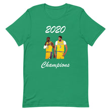 Load image into Gallery viewer, Lakers 2020 Champions T-Shirt James and Davis Men's