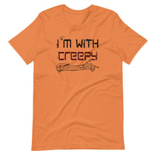 Load image into Gallery viewer, I'm With Creepy Matching Men and Women Couple T-Shirts