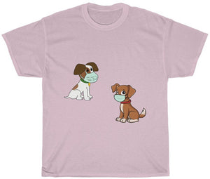 Social Distancing Dogs T Shirt