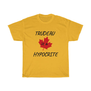 trudeau sucks t shirt