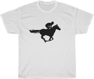 the black horse t-shirt