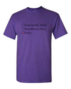 Political Party T-Shirt
