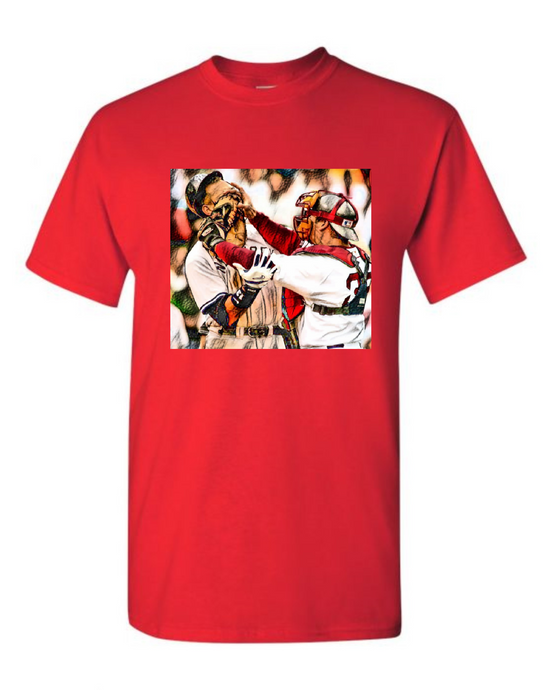 2004 Varitek Slugs A-Rod T-Shirt