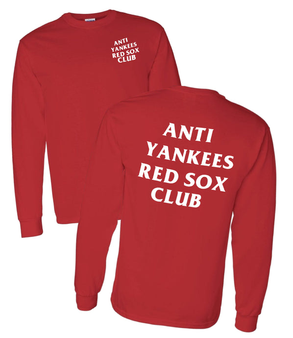 Yankees Suck Red shirt