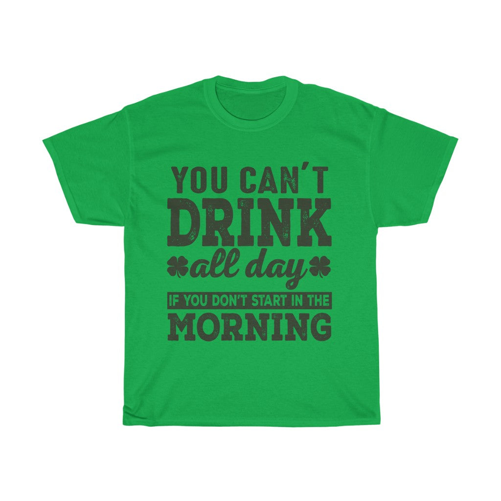 St Patricks Day Drinking T Shirt