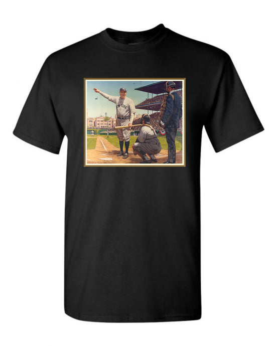 Babe Ruth called shot shirt