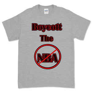 Boycott the NBA T-Shirt