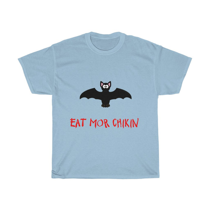 Quarantine and Social Distance T Shirt (Eat Mor Chikin)