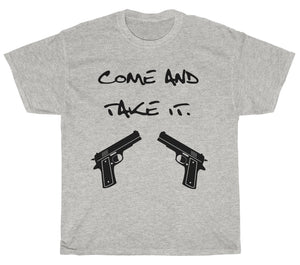Second Amendment T-Shirt (Come and Take It)