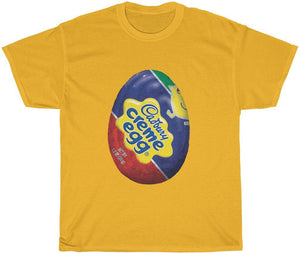 cadbury eggs t--shirt gold