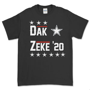 Dak & Zeke for President 2020 T Shirt