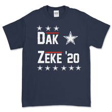 Load image into Gallery viewer, Dak & Zeke for President 2020 T Shirt