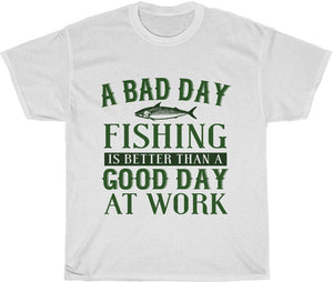 yeah guy fishing shirt