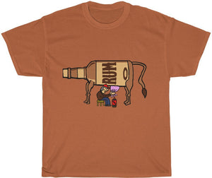 Rum N Coke Cow T-Shirt