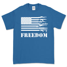 Load image into Gallery viewer, Second Amendment Gun Flag Freedom T-Shirt