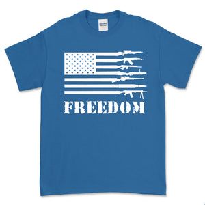 Second Amendment Gun Flag Freedom T-Shirt
