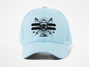 Ski the East Skull Dad Hat