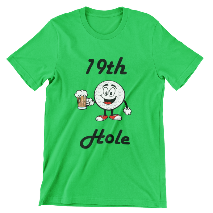 Golf Hole 19 T Shirt