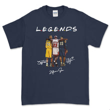 Load image into Gallery viewer, NBA Legends (Bryant, Jordan, James) T Shirt