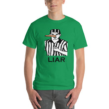 Load image into Gallery viewer, Football Ref Liar T Shirt