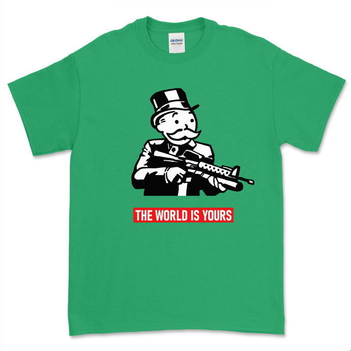 Monopoly The World is Yours T-Shirt