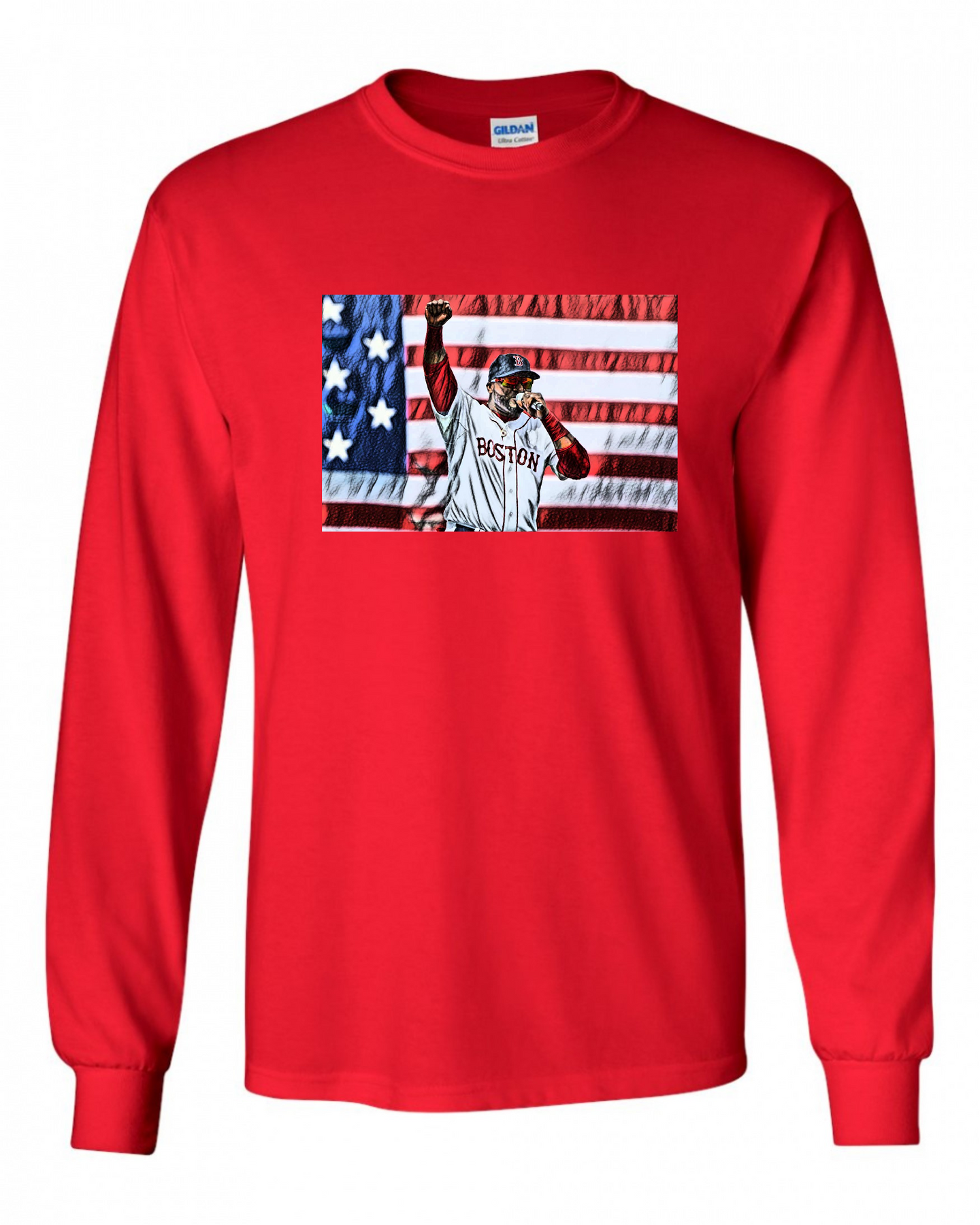 David Ortiz, 2013 Boston Strong Long Sleeve