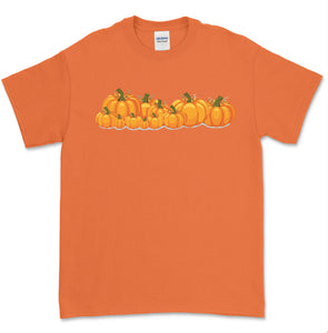 Orange Halloween T Shirt