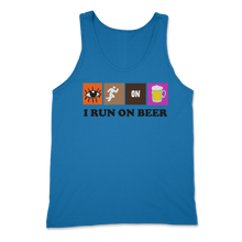 Load image into Gallery viewer, Run on Beer Tank Top