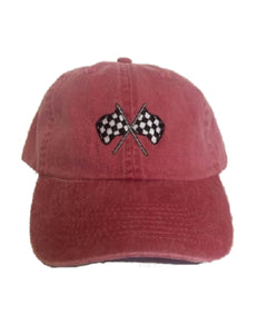 Red Velcro Series Hat