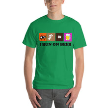 Load image into Gallery viewer, Run on Beer T Shirt