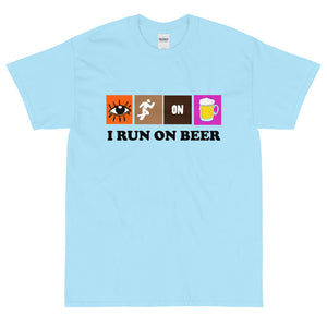 Run on Beer T Shirt