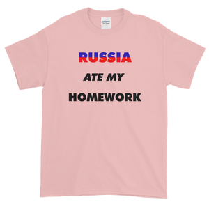 Yeah Guy Russia Ate My Homework T-Shirt