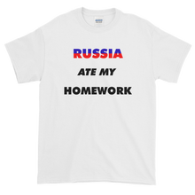 Load image into Gallery viewer, Yeah Guy Russia Ate My Homework T-Shirt