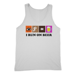 Run on Beer Tank Top
