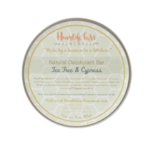Toxin-Free, Natural Deodorant- Tea Tree & Cypress