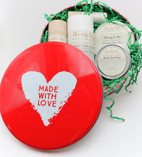 Holiday Packaged Toxin-Free Starter Kit- Deodorant, Lip Quench, Tooth Powder, Sun Cream & Lotion Bar