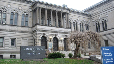 Carnegie Library of Pittsburgh, Main Branch Entrance