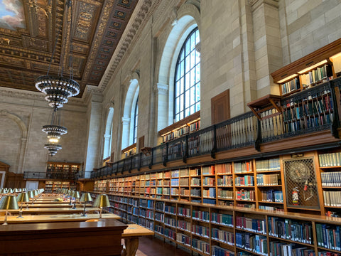 Reading Room at New York Public Library