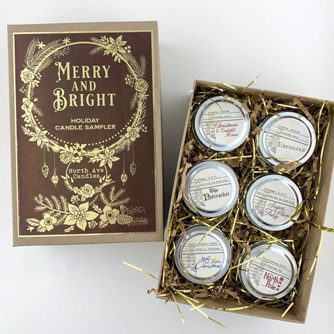 Merry and Bright / Christmas Candle Sampler