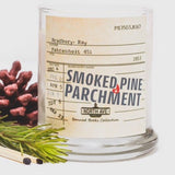 Smoked Pine + Parchment / Inspired by Fahrenheit 451