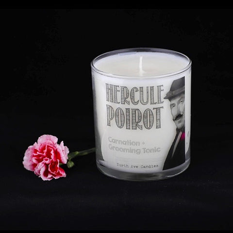 Hercule Poirot - Grooming Tonic and Carnation