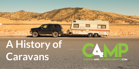 History of Caravans - A Timeline Infographic