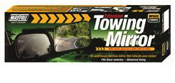 Towing Extension Mirror - Convex Glass