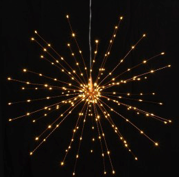 Large Starburst -  50 cm Copper