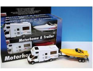 Toy Motorhome & Trailer